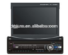 7 Inch Single Din Universal Car DVD Player Bluetooth+Analog TV+GPS+Radio+Rear Review+Stereo/7'' Single Din Car DVD Player