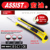 Ningbo Assist stainless steel utility knife blade 18mm utility knife rubber cutter hand tools