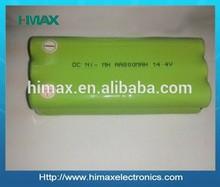 nimh aa batteries ni-mh aa 14.4v 800mah nimh rechargeable battery pack