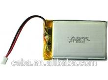 CEBA 3.7v lithium li-polymer 1200mah 3.7v rc battery
