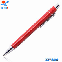 school supplier Custom printed thin ballpoint pens / advertisement promotion ball pen / hotel ball pen