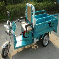 800w three wheel cargo electric tricycle used