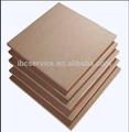 De fibra de madera y material de primera- clase grado mdf junta de proceso de fabricación