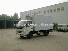 dry freight van dry cargo lorry body autoclave insulated truck box