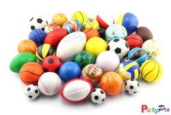 Partypro 2015 New Wholesale PU FOAM Custom Magic 8 Ball Stress Ball Custom Print Soccer Ball