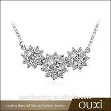 OUXI Big discount good make rhodium chunky plated jewelry