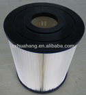 Swimming pool water spa filter cartridge used sand filters for ponds made in china