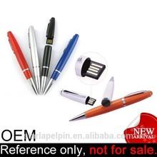 custom logo cheap memory promotion special ballpoint pen usb flash drive