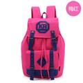 şık seyahat sırt çantası çantası çantası rahat kanvas sırt daypack schoolbag yürüyüş sırt