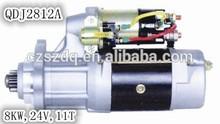 self starter 24V 8KW 11T Daewoo motor QDJ2812A