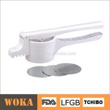 Vintage Plastic Kitchen Accessories White Presser Potato Ricer