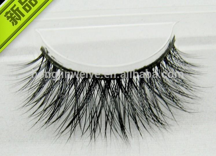 Mink Eyelashes 100% Real Mink False Eyelash - Buy Mink Fur Eyelash ...