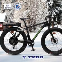 48V/500W fat tire electric fat bike