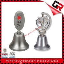New design hot sell custom souvenir dinner bell brass dinner bells brass dinner bells