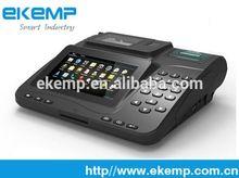 EKEMP 3G POS Terminal supports Magnetic Card Reader and RFID card reader ,printer P9