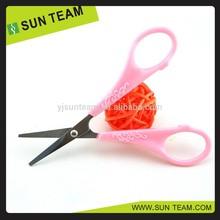 """SC051 4-1/4"""" Crave flower patterns nail scissors"""