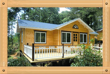 Fashion Style Prefab Homes Wooden House Villa For Sale