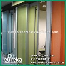 modern house design decorative plastic panels sliding room divider