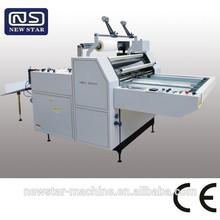 YFMB-720A/920A/1100A/1400A semi-automatic hot melt adhesive laminating machine with CE Standard