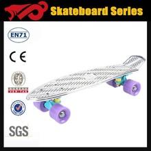 High quality fiberglass skateboard deck