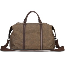 New design coffee canvas duffle bag,duffle bags travel,travelling bag
