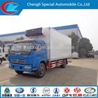 Vegetables freezer truck 4X2 refrigerator truck frozen lorry -18 degree chilled truck fresh cooling china freezer box van