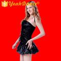 Moda falda de baile de salón de baile de Salsa vestidos