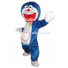 Best seller encantadora doraemon traje de, Doraemon traje de la mascota para adultos