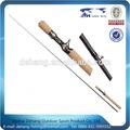 chinês seção de fibra de carbono varas de pesca e bobinas