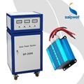 2kw fora da grade pequena casa sistema de energia solar effiency alta sistema de energia solar para casas pequenas