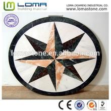 Loma floor medallion mosaic tile , marble mosaic pattern