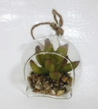 china mini verde artificial plantas suculentas con olla para decoración