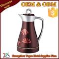 0.7 l / 1 L mayorista alta calidad de jarra de café de doble pared de revestimiento de vidrio/ botella de termo / termos de acero inoxidable al por mayor frasco TP005