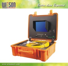 Witson 40m 10 Inch LCD Monitor with OSD Digital Meter Counter Sewer pipe inspection camera