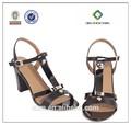 5500-br865 été, sexe black santal de haut talon chaussures pour femmes