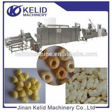 twin screw extruder puff corn snack making machine