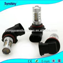 Latest 12v car led lighting 80W auto lamp H1 H3 H4 H7 9005 9006 fog light