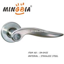 Mingjia hot sale stainless steel door handle for indoor safety lock