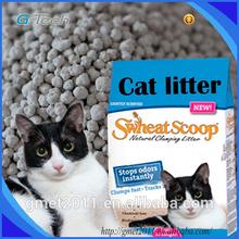 Oem y ODM de sodio 100% arena para gatos bentonita