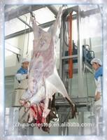 Cattle slaughter equipment Cattle hydraulic peeling skinning machine electric decorticator