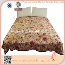 Hot selling custom Animal Print Korean Coral Fleece Mink Flannel Blanket