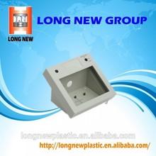 electronic plastic enclosure / precision injection molding