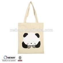 2015 plain cotton tote bag,long strap shoulder canvas tote bags,canvas cotton wholesale reusable bag