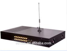 16 Ports 128 sims GSM FWT Call Termination Voip Gateway GOIP