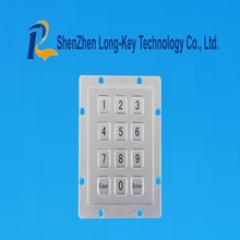Right good brand stainless steel metal keypad