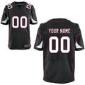 Atacado arizona personalizado personalizado elite preto/vermelho/branco camisetas de futebol americano, os números& nome, todas as costuras, oem
