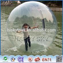 Good Product Dia 2m inflatable water beach ball,water ball price,running water ball