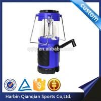 HL9637 solar rechargable led emergency camping light lantern