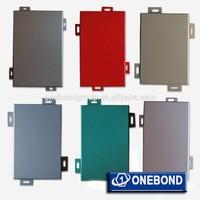 PVDF Aluminum panels for wall/ Building construction material/ colored aluminum cladding /