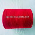 10s de color rojo para hilados de sofá de la tela